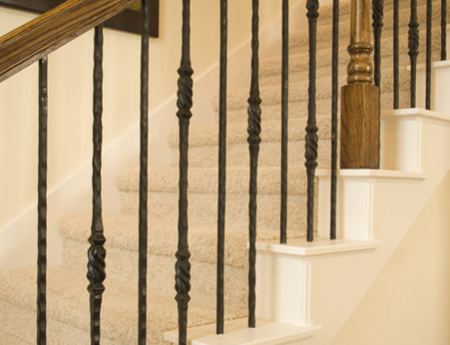 Tuscan Square Twisted Knuckle Baluster & Plain Bar