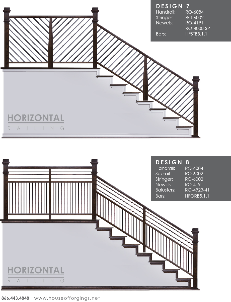 Affordable Horizontal Railing Now Available!