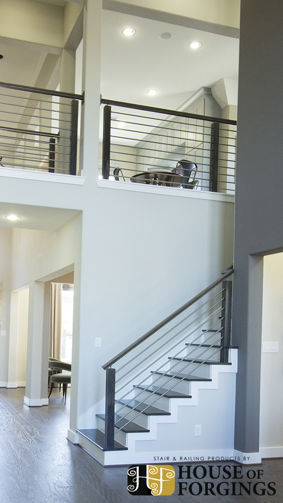 Horizontal Railing – Affordable Modern Staircases