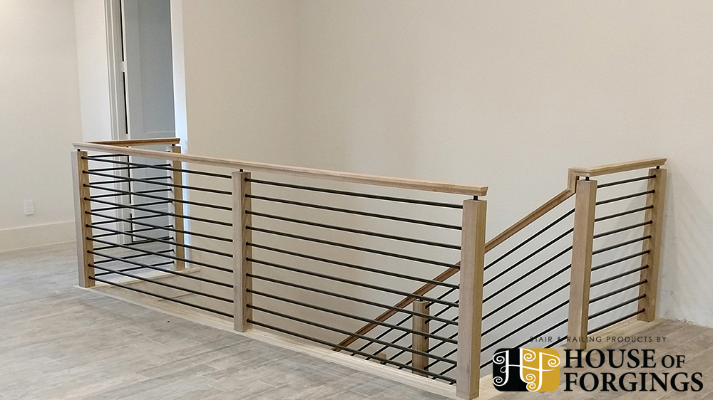 horizontal railing  u2013 affordable modern staircases